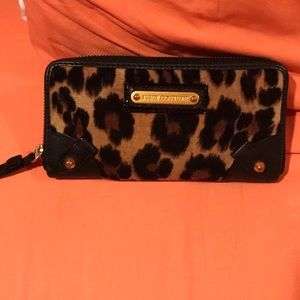 Juicy Couture leopard wallet